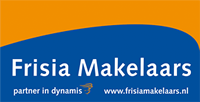 Vastgoedreclame Frisia makelaars logo