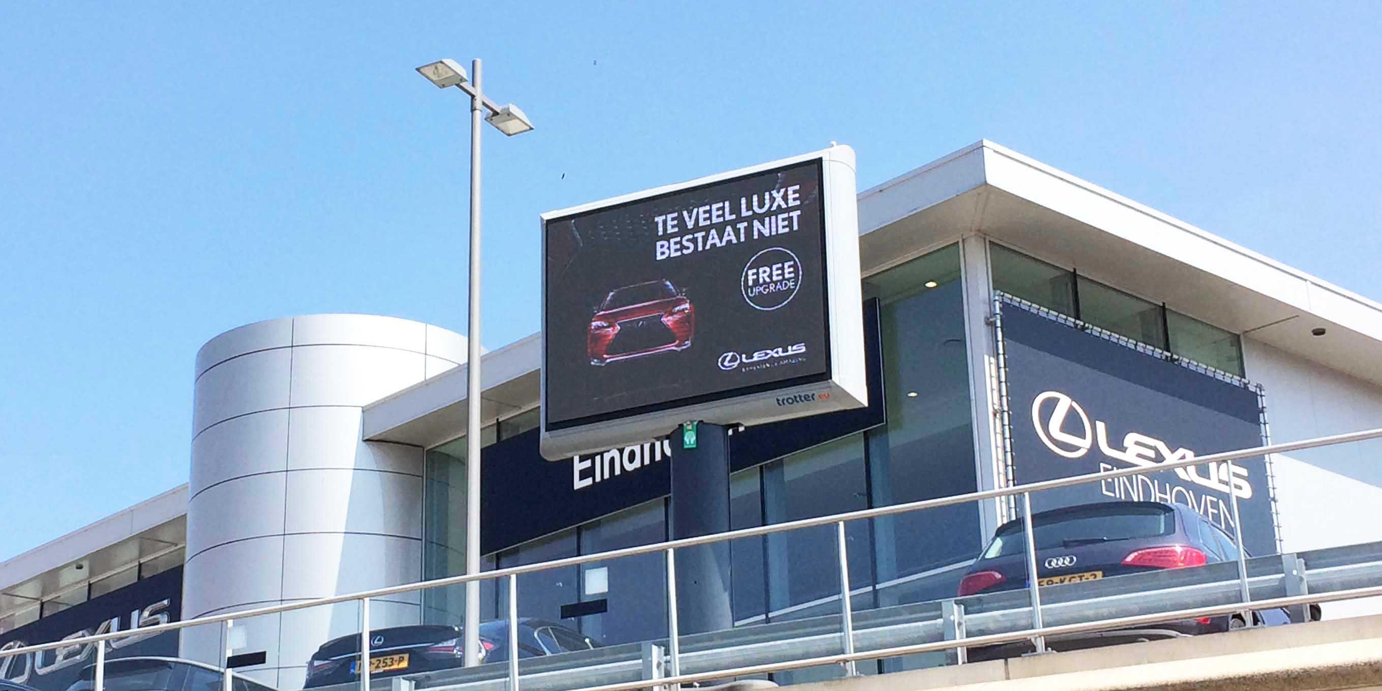 LED Trotter billboards - buitenreclame -imagebuilding