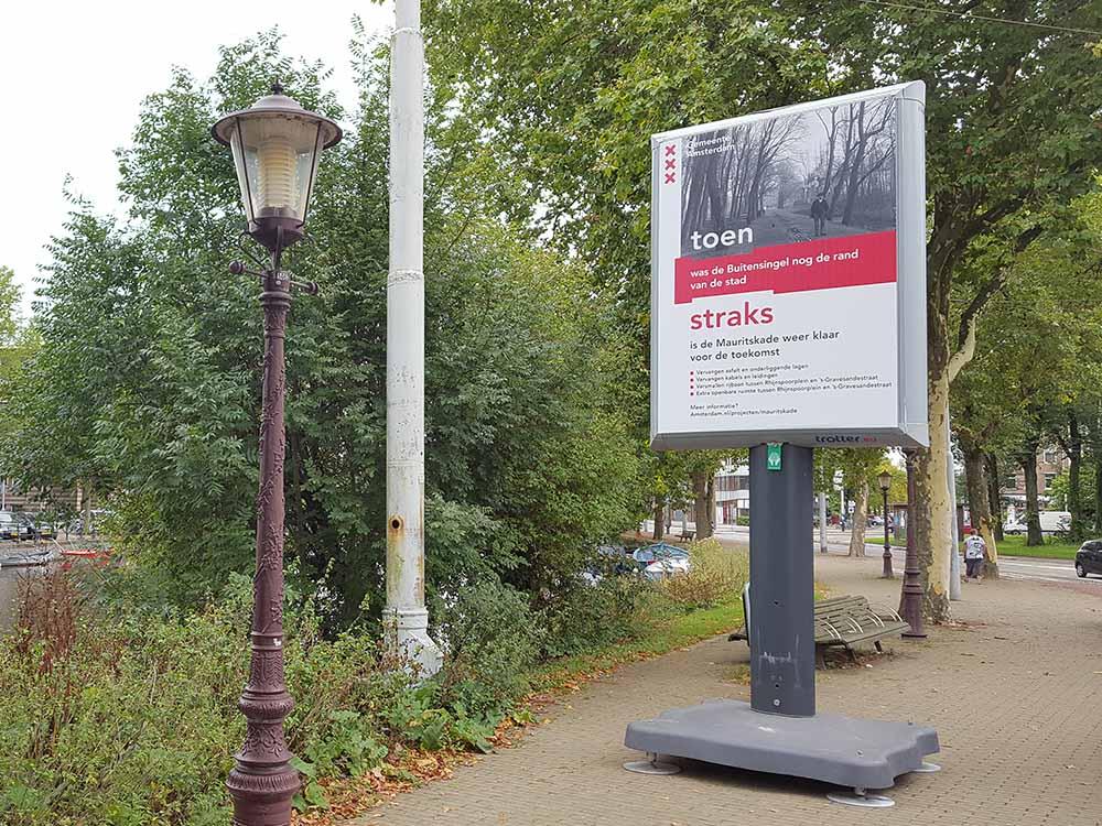 Transformatie Mauritskade Amsterdam