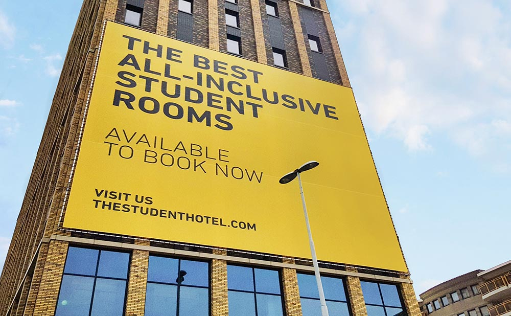The Student hotel - duurzame bouwplaats