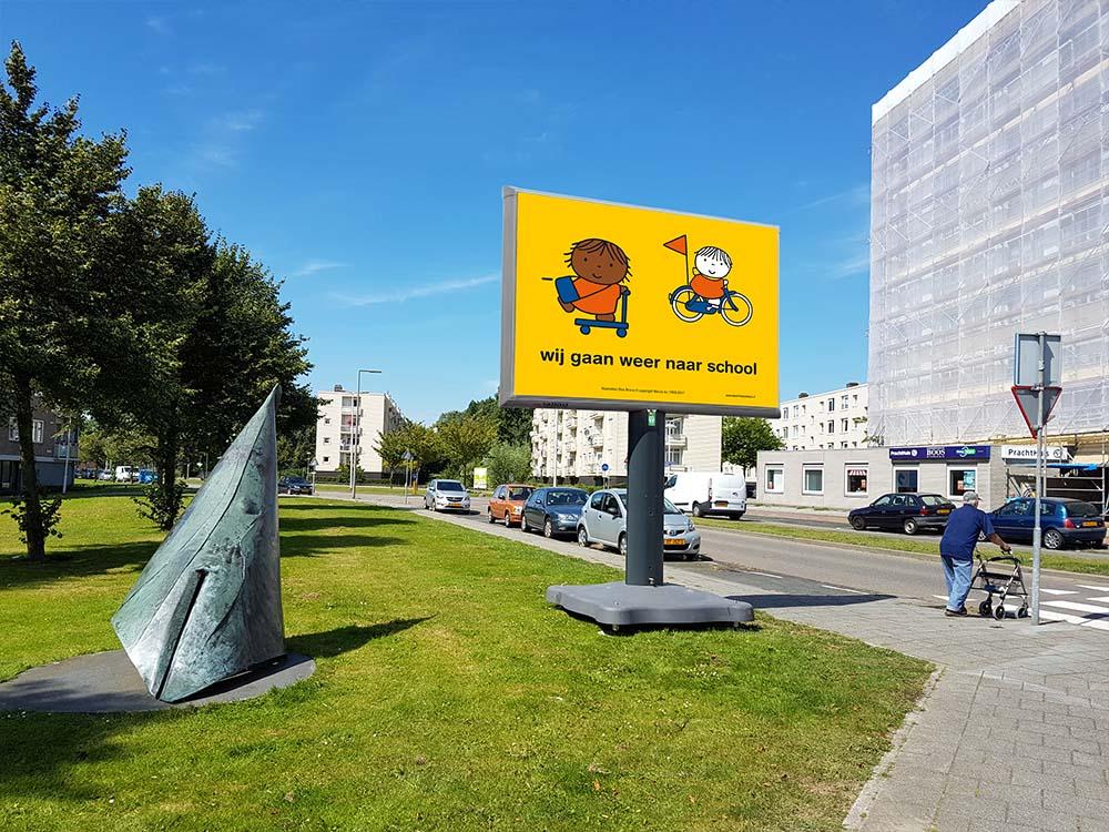 Wij gaan weer naar school campagne Rotterdam