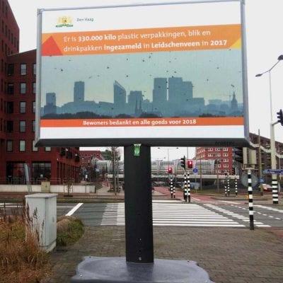 Trotter afvalscheiding Gemeente Den Haag Leidschenveen