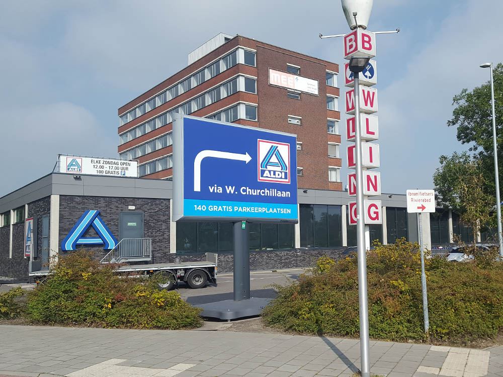 Trotter Aldi online en offline marketing combineren
