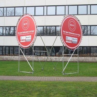 Rond Frame Image Building