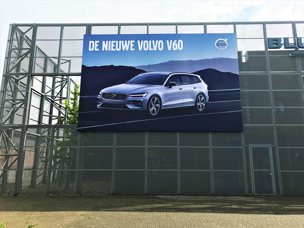 Automotive signing - buitenreclame - volvo V60