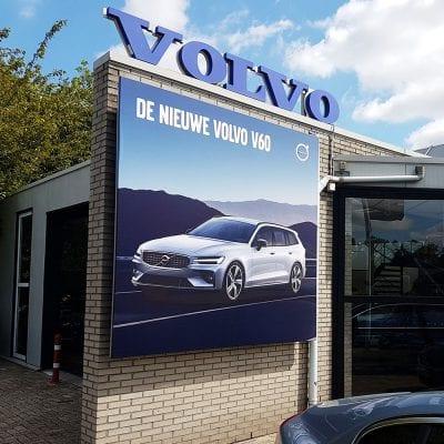 Automotive signing - buitenreclame - Volvo V60
