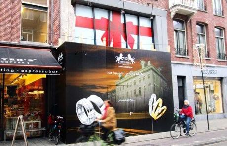 Gesloten raamfolie Image Building