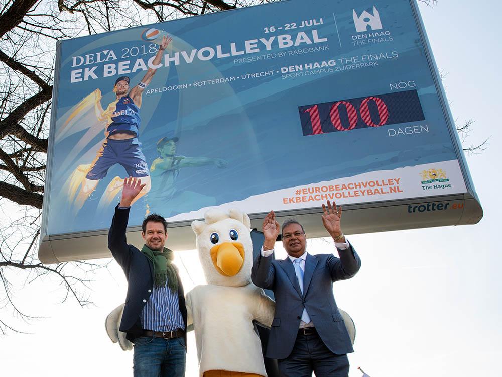 EK Beachvolleybal 2018 - Fotografie: Arnoud Roelofsz