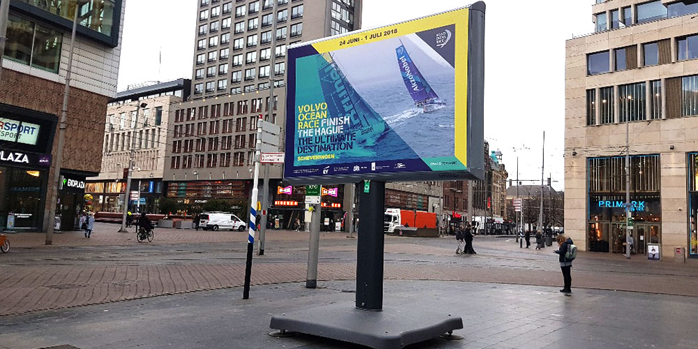 city branding events volvo ocean race den haag