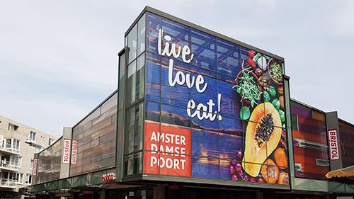 Amsterdamse Poort - raamfolie - Image Building