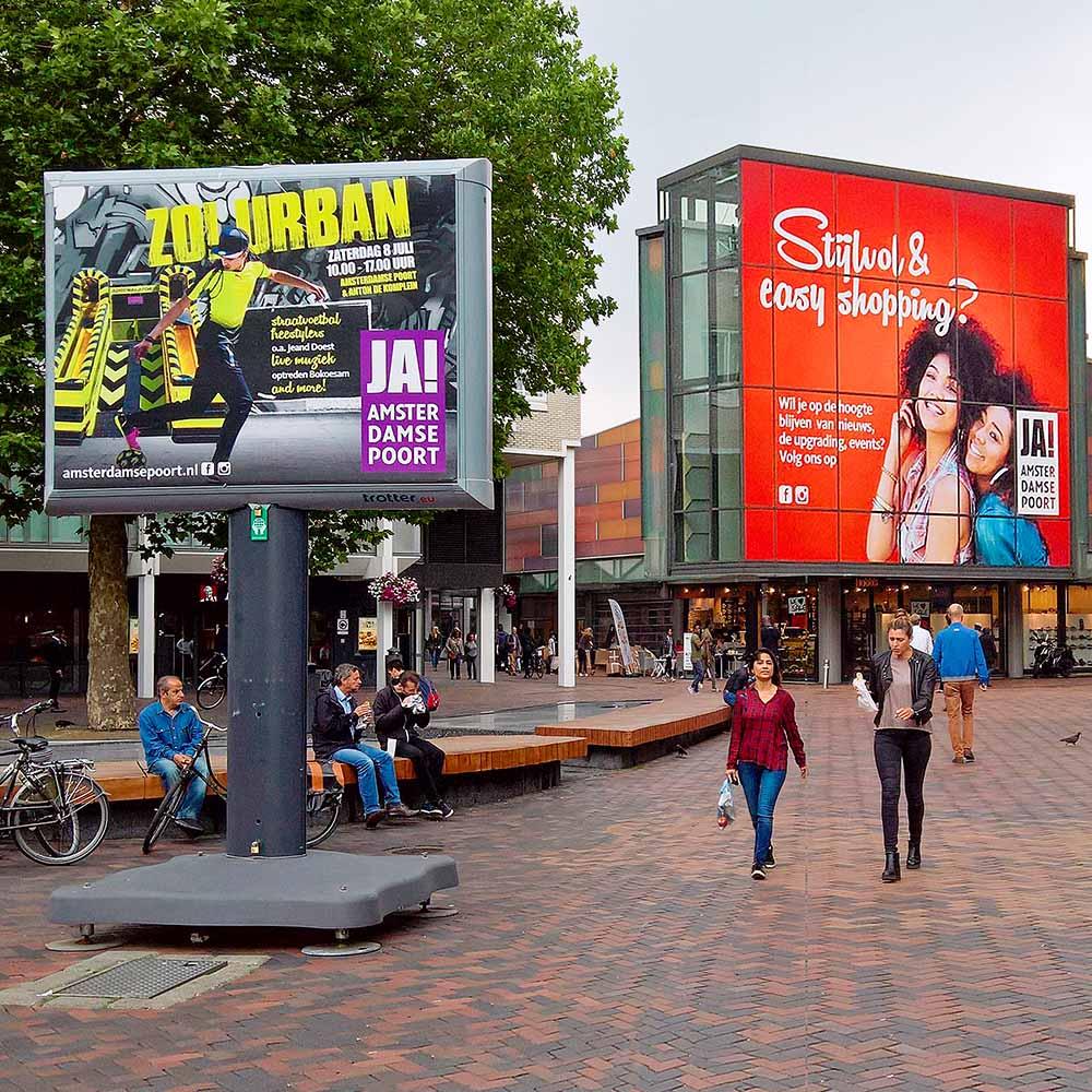 Amsterdamse Poort winkelcentrumpromotie