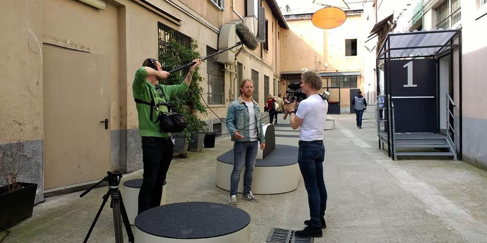 interview Noordwijk Klein - Salone del Mobile