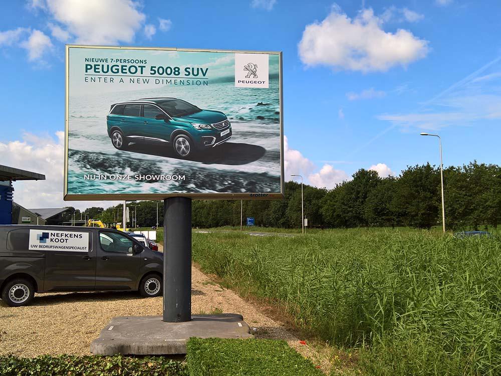 Peugeot summerdrive en 5008 suv