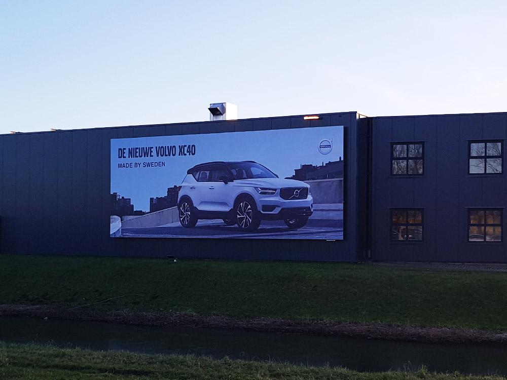 Gevel reclame - Volvo - Frame - Image Building