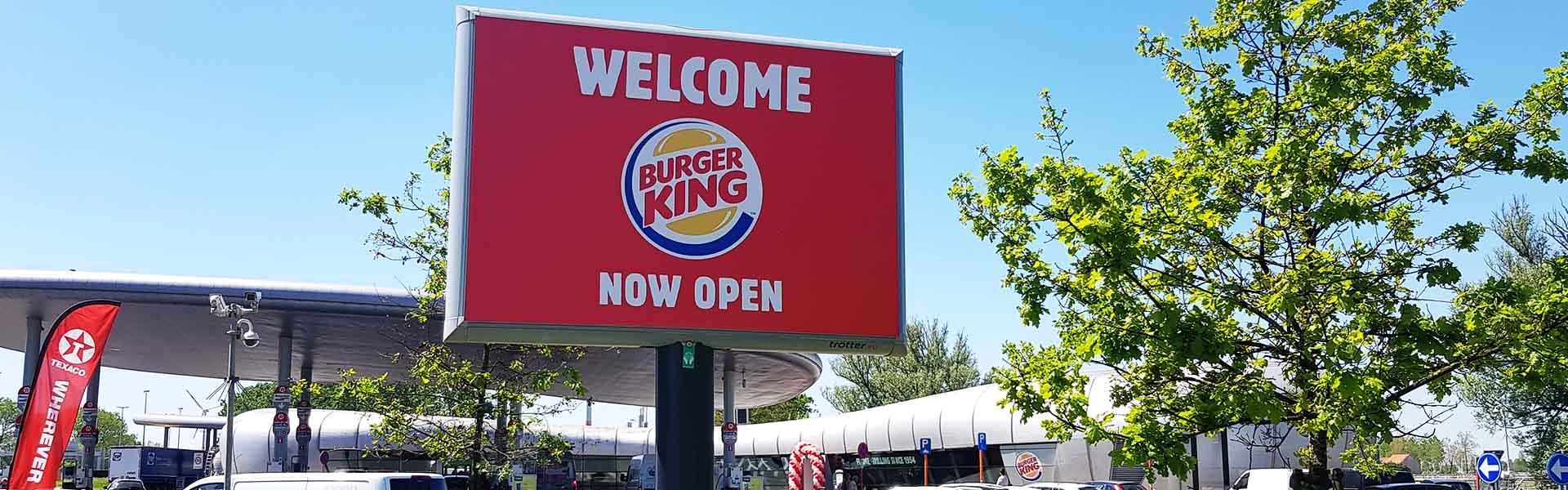 Burger King buitenreclame