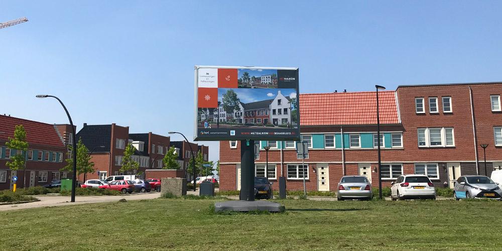 Nieuwbouwproject Het Balkon in Maassluis