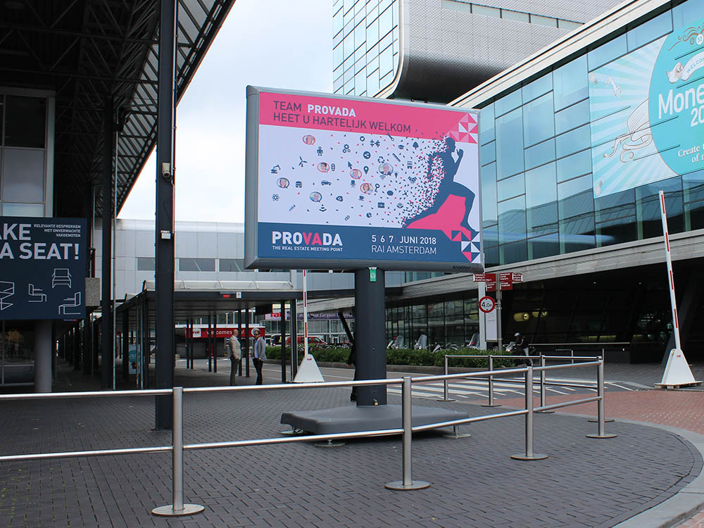 PROVADA signing Amsterdam Rai - Image Building