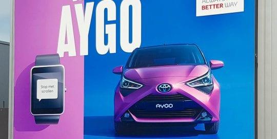 Lancering van de nieuwe Aygo - Image Building