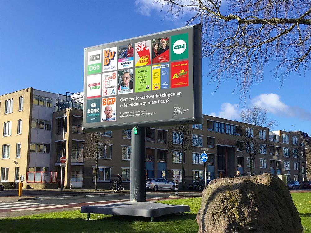 Verkiezingsborden trotter verkiezingsbord verkiezingen in Nederland