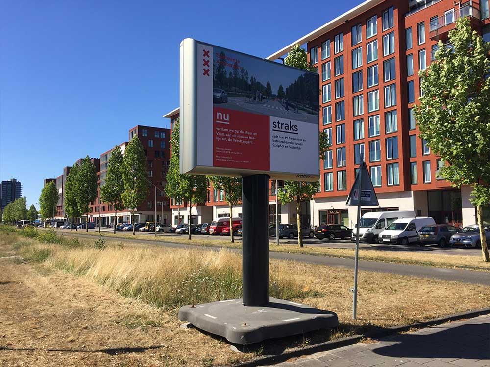 Communicatie in de openbare ruimte Gemeente Amsterdam