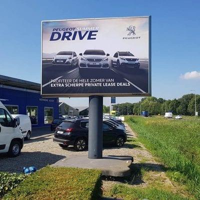 Lancering Peugeot Summerdrive - Peugeot Nederland - Trotter - Image Building