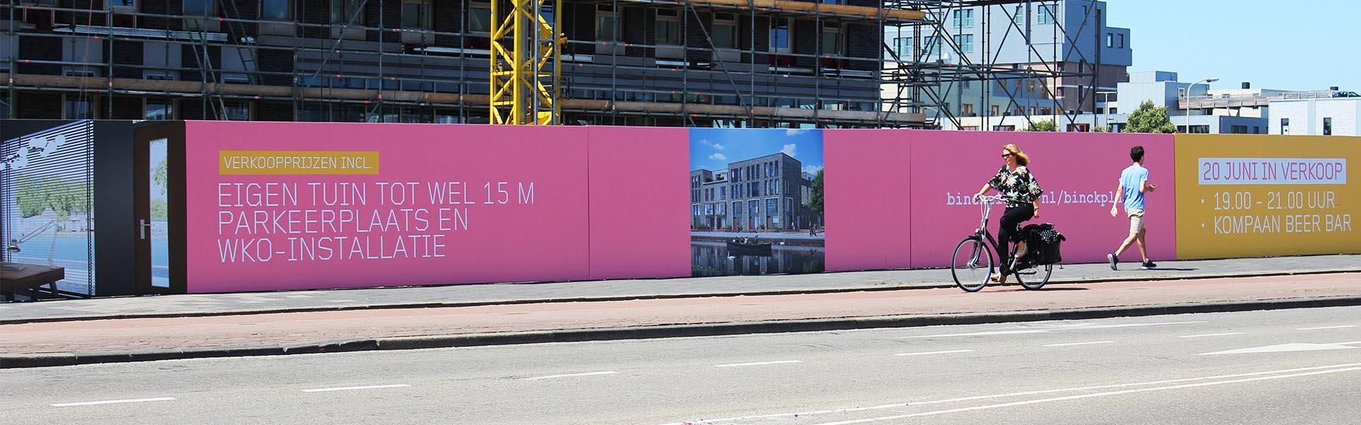 Bouwschutting Binck Zuid Image Building