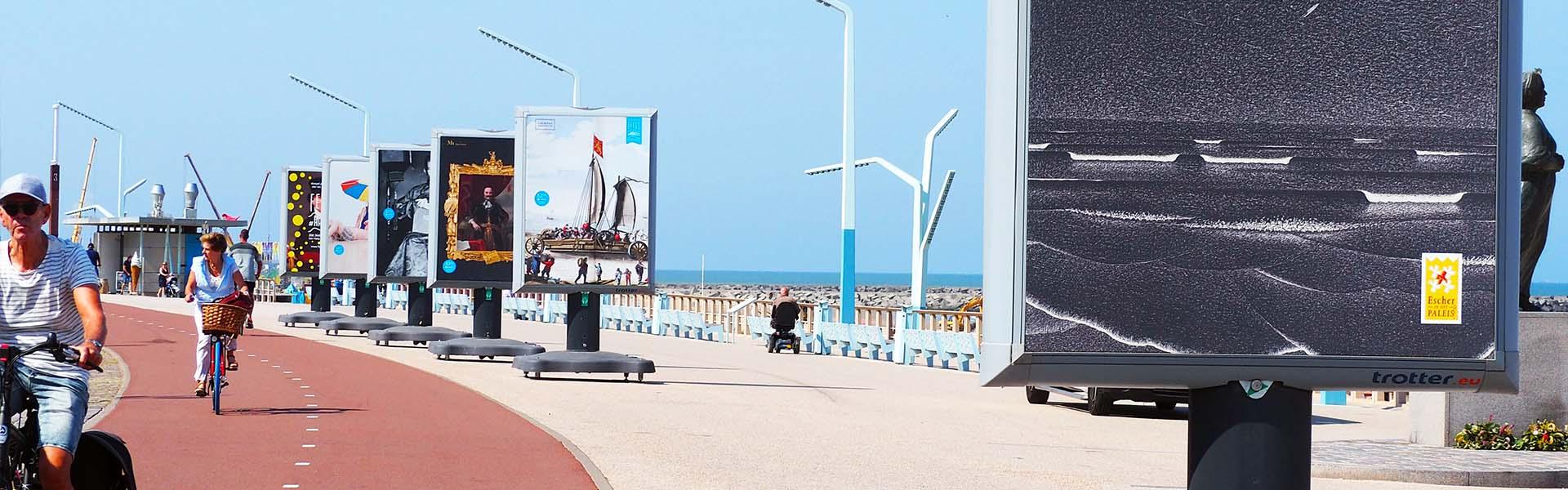 Buitenexpositie - Feest aan Zee - Image Building