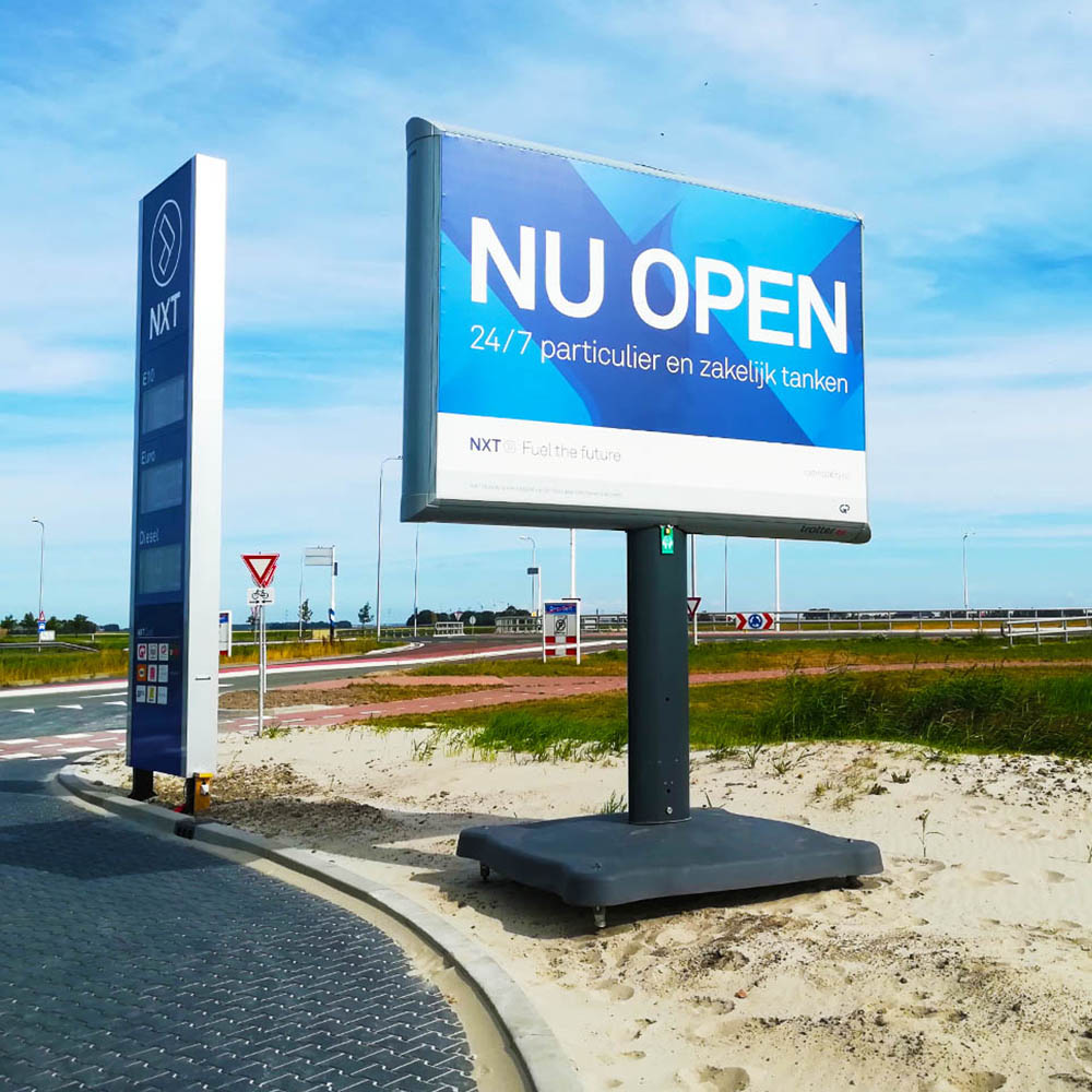 NXT - Petrol reclame - retail - Trotter - Image Building