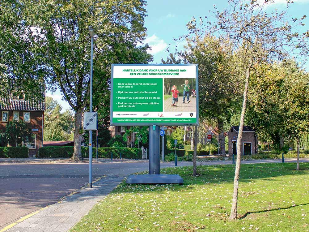 Gemeente Rotterdam - Veilige Schoolomgeving - Image Building
