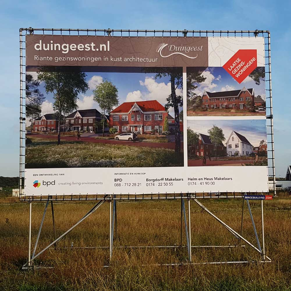Vastgoed - projectontwikkeling - bouwbord - BPD - Image Building