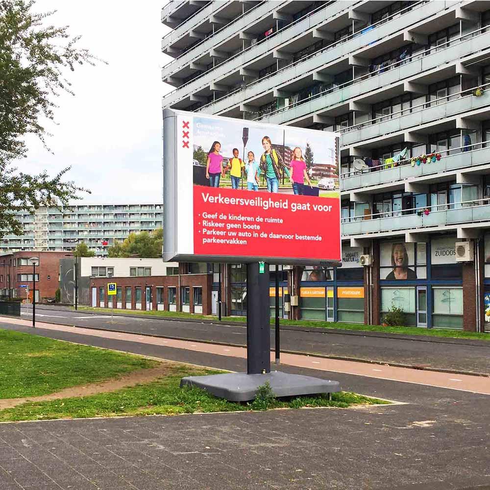 Veilig naar school - trotter - Amsterdam - Image Building