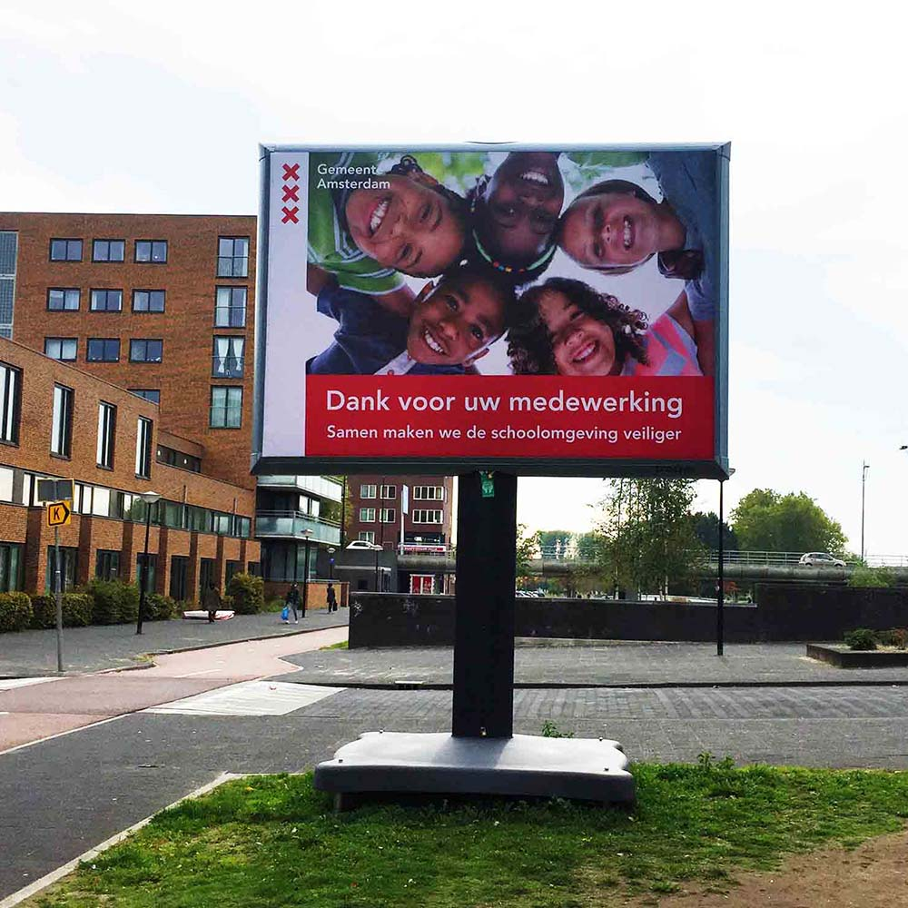 Veilige naar school - Trotter - Image Building - Amsterdam