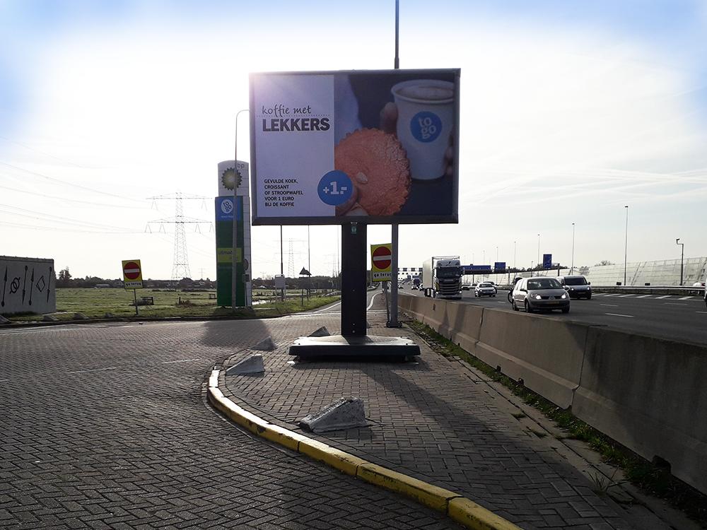 Snelwegreclame - BP Nederland - Trotter - Image Building
