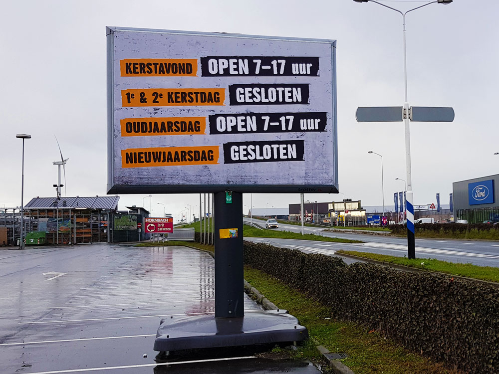 retailcommunicatie en outstore signing feestdagen communicatie