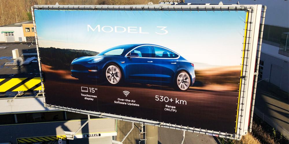 billboard reclamebord buiten aluminium buizenframe image building