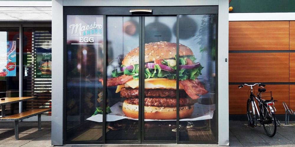 retail marketing Raamfolie_macdonalds_blog