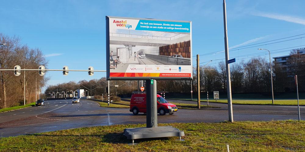 informatie bij wegwerkzaamheden trotter amstelveenlijn
