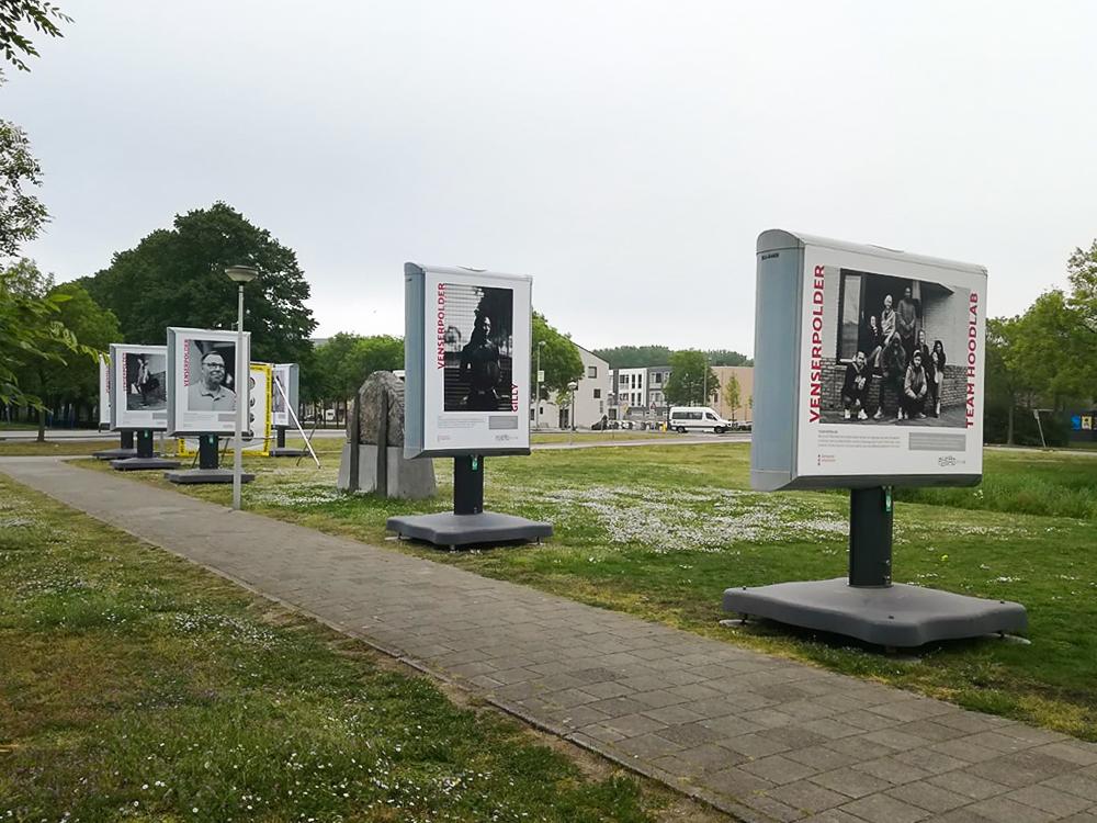 Openbare expositie Amsterdam Zuidoost Trotters Venserpolder