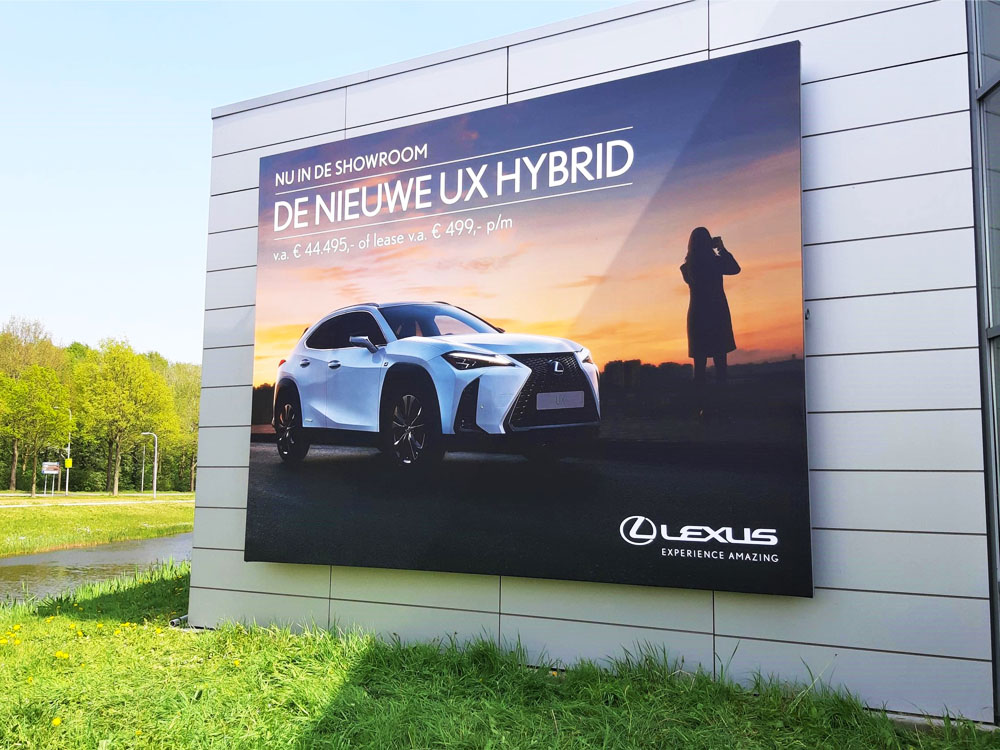 inspiratie blindframe automotive dealer campagne image building