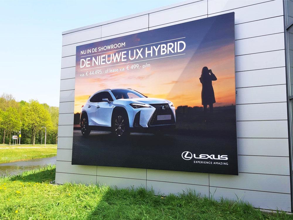 autodealer reclame campagne lexus blindframe
