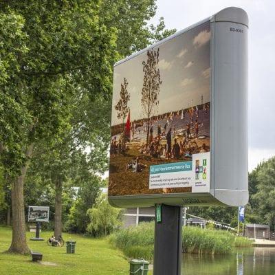 openbare expositie Trotter_haarlemmermeersebos image building