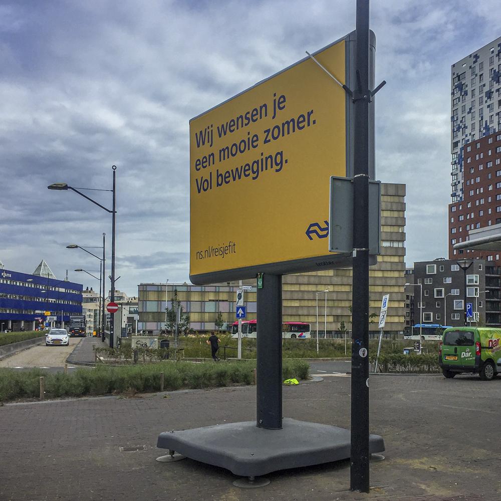 Nijmeegse vierdaagse NS trotter nijmegen image building