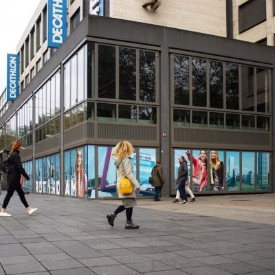Citymarketing rotterdam raamfolie stickers raamstickers buitenreclame 1000x1000
