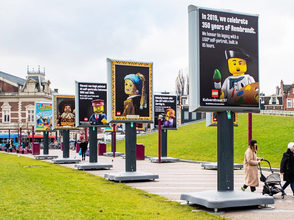 LEGO expo amsterdam trotter billboard 3 1000x750