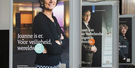 foto expositie ambassadeursconferentie 2020 trotter billboard