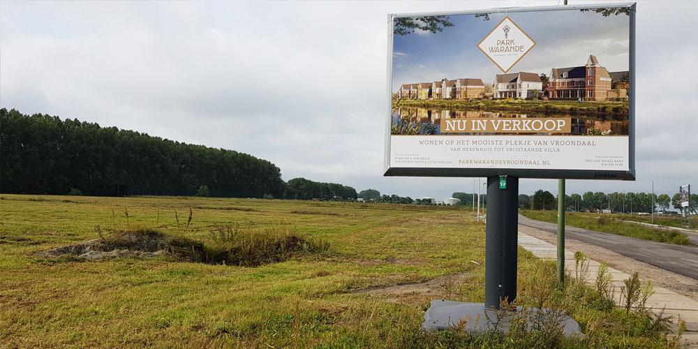 verkoopbord trotter billboard image building den haag 1000x500