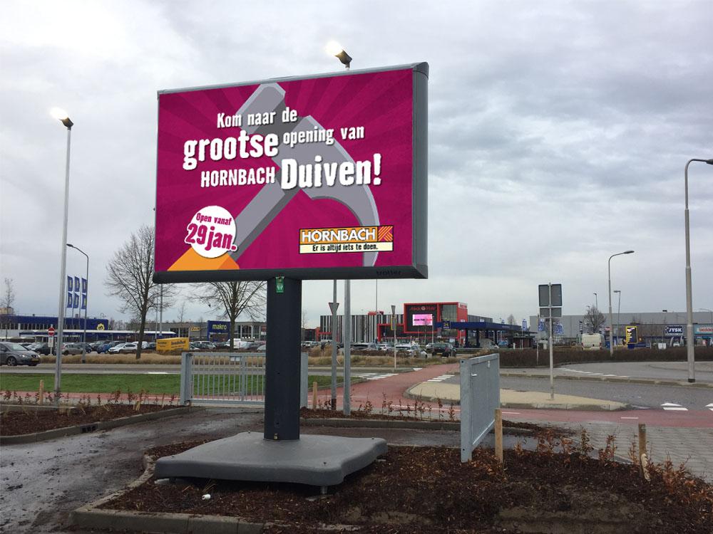 reclameborden voor bouwmarkten trotter billboard trotterbord trotterborden