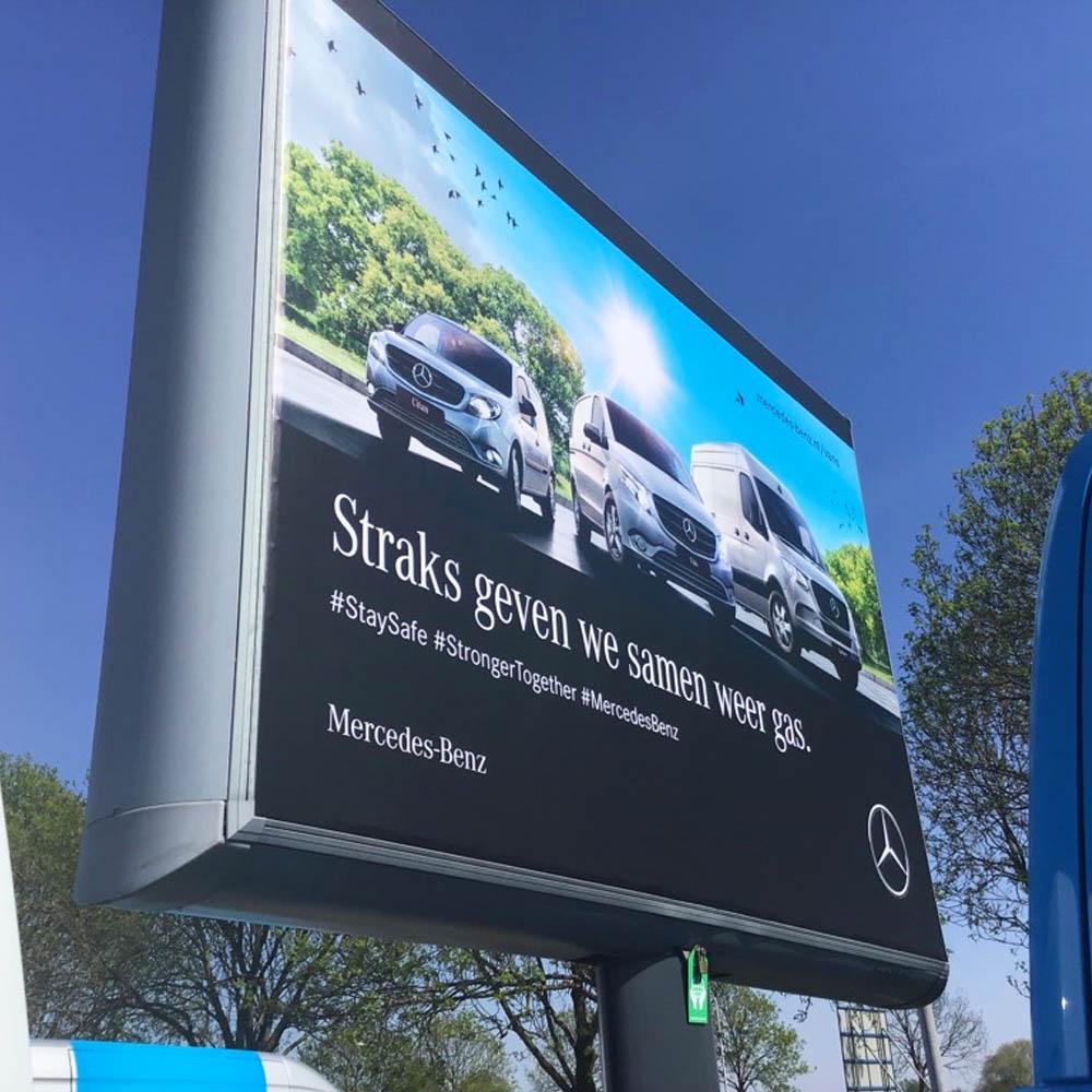 Mercedes trottercampagne landelijk trotter trotterbord billboard 3 1000x750