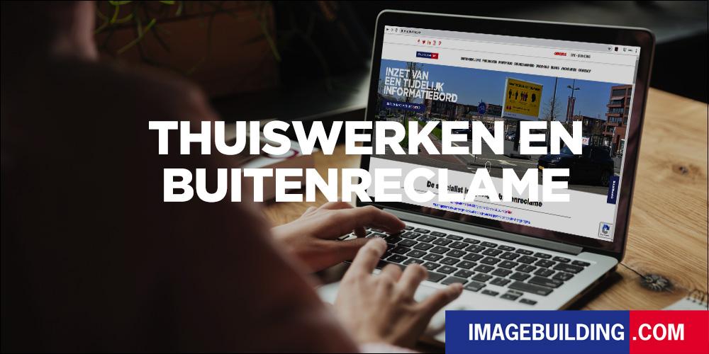thuiswerken en buitenreclame laptop banner trotter image building 1000x500