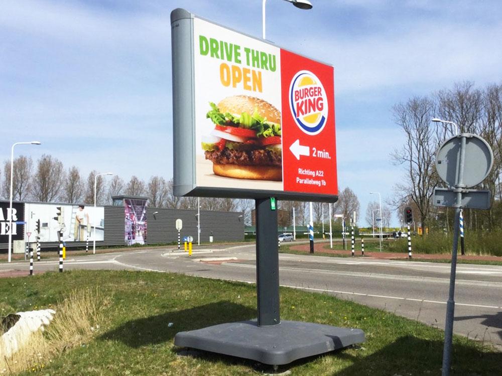 retailmarketing retail marketing trotter informatiebord burgerking billboard 1000x750